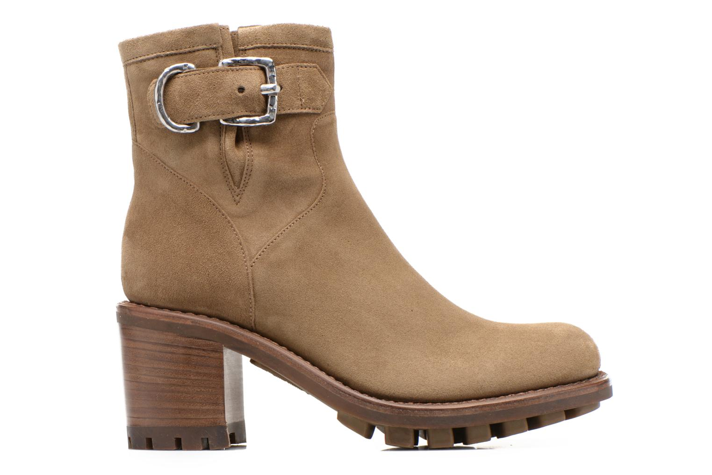 Stiefeletten & Boots Free Lance Justy 7 Small Gero Buckle grün ansicht von hinten