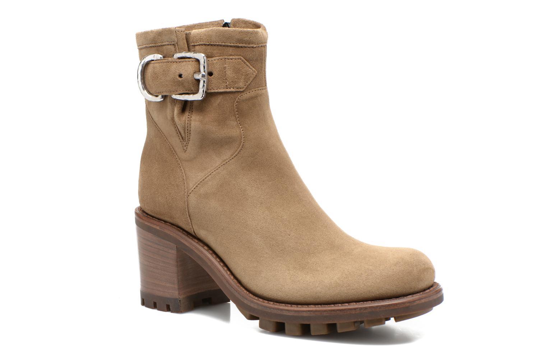 Bottines et boots Free Lance Justy 7 Small Gero Buckle Vert vue détail/paire