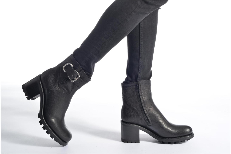 Bottines et boots Free Lance Justy 7 Small Gero Buckle Gris vue bas / vue portée sac