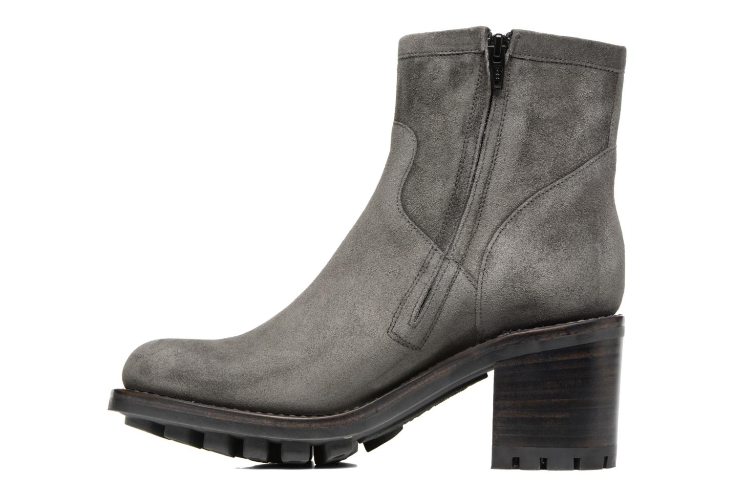 Bottines et boots Free Lance Justy 7 Small Gero Buckle Gris vue face