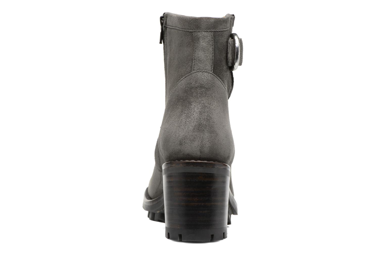 Ankle boots Free Lance Justy 7 Small Gero Buckle Grey view from the right