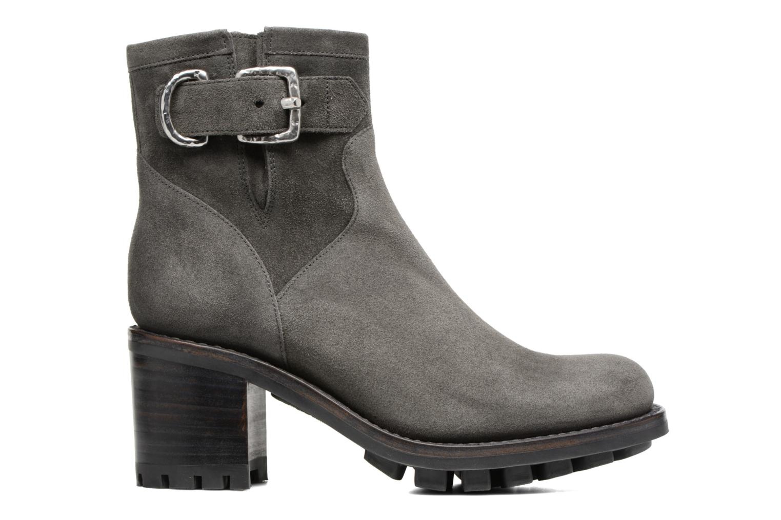 Ankle boots Free Lance Justy 7 Small Gero Buckle Grey back view