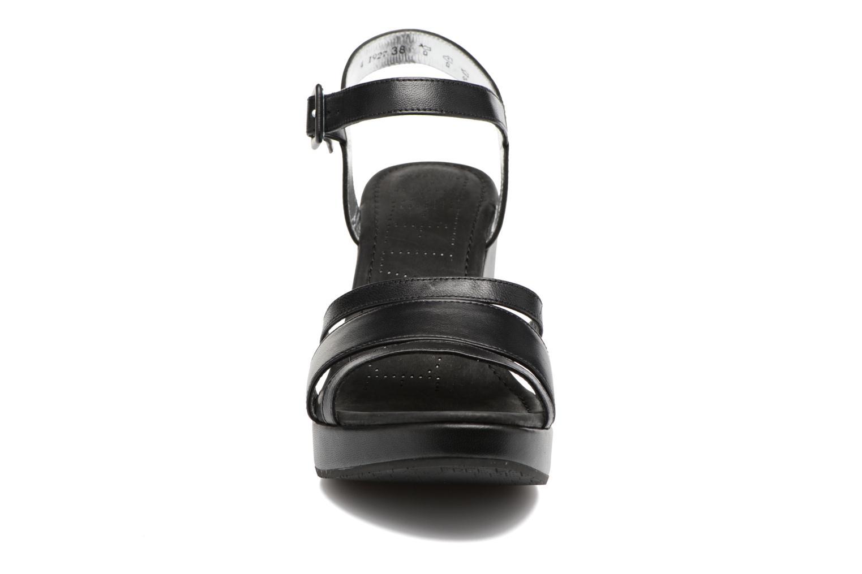 Sandalen Free Lance Ystad 7 Sandal schwarz schuhe getragen