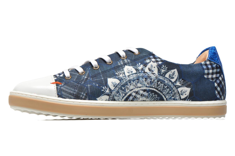 Sneaker Desigual SHOES_HAPPYNESS blau ansicht von vorne