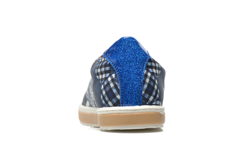 Sneaker Desigual SHOES_HAPPYNESS blau ansicht von rechts