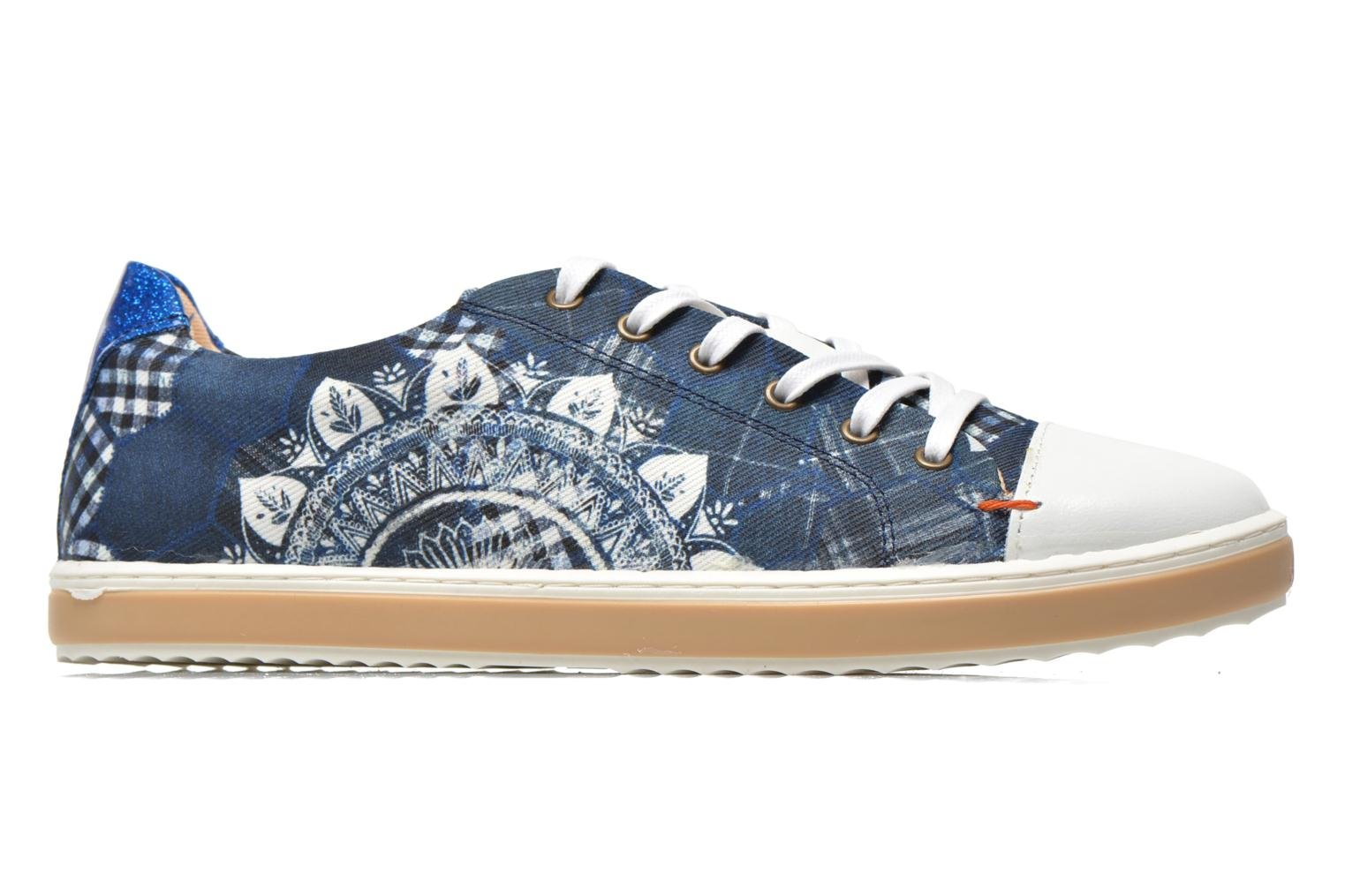 Sneakers Desigual SHOES_HAPPYNESS Blauw achterkant