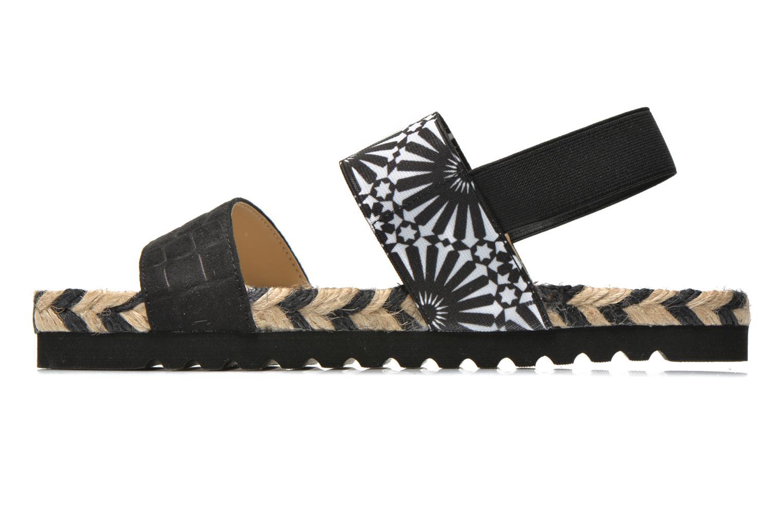 Sandali e scarpe aperte Desigual SHOES_ FORMENTERA Nero immagine frontale