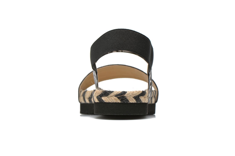 Sandales et nu-pieds Desigual SHOES_ FORMENTERA Noir vue droite