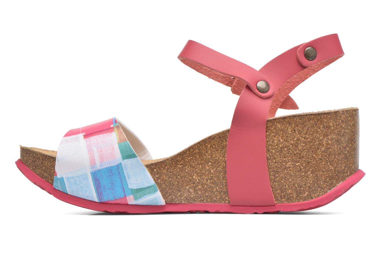 Sandales et nu-pieds Desigual SHOES_BIO 7 Rose vue face