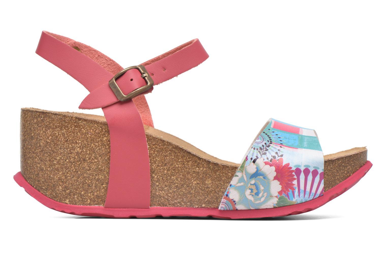 Sandales et nu-pieds Desigual SHOES_BIO 7 Rose vue derrière
