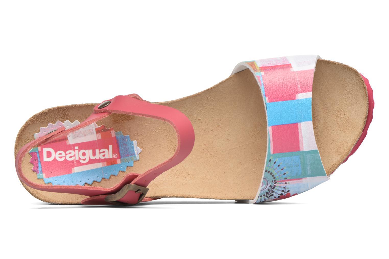 Sandales et nu-pieds Desigual SHOES_BIO 7 Rose vue gauche