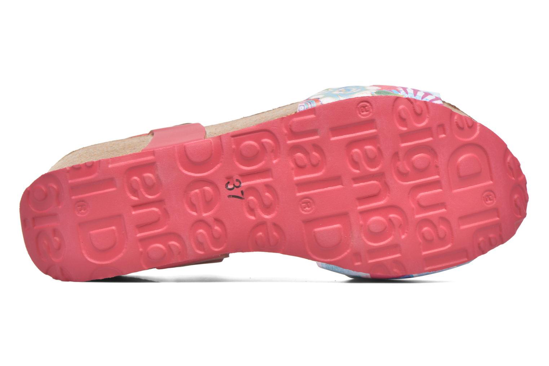 Sandales et nu-pieds Desigual SHOES_BIO 7 Rose vue haut