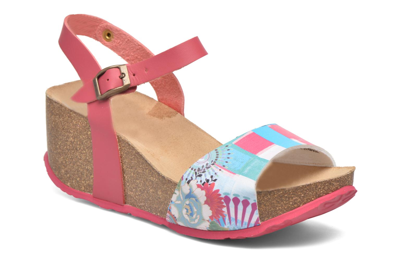Sandales et nu-pieds Desigual SHOES_BIO 7 Rose vue détail/paire