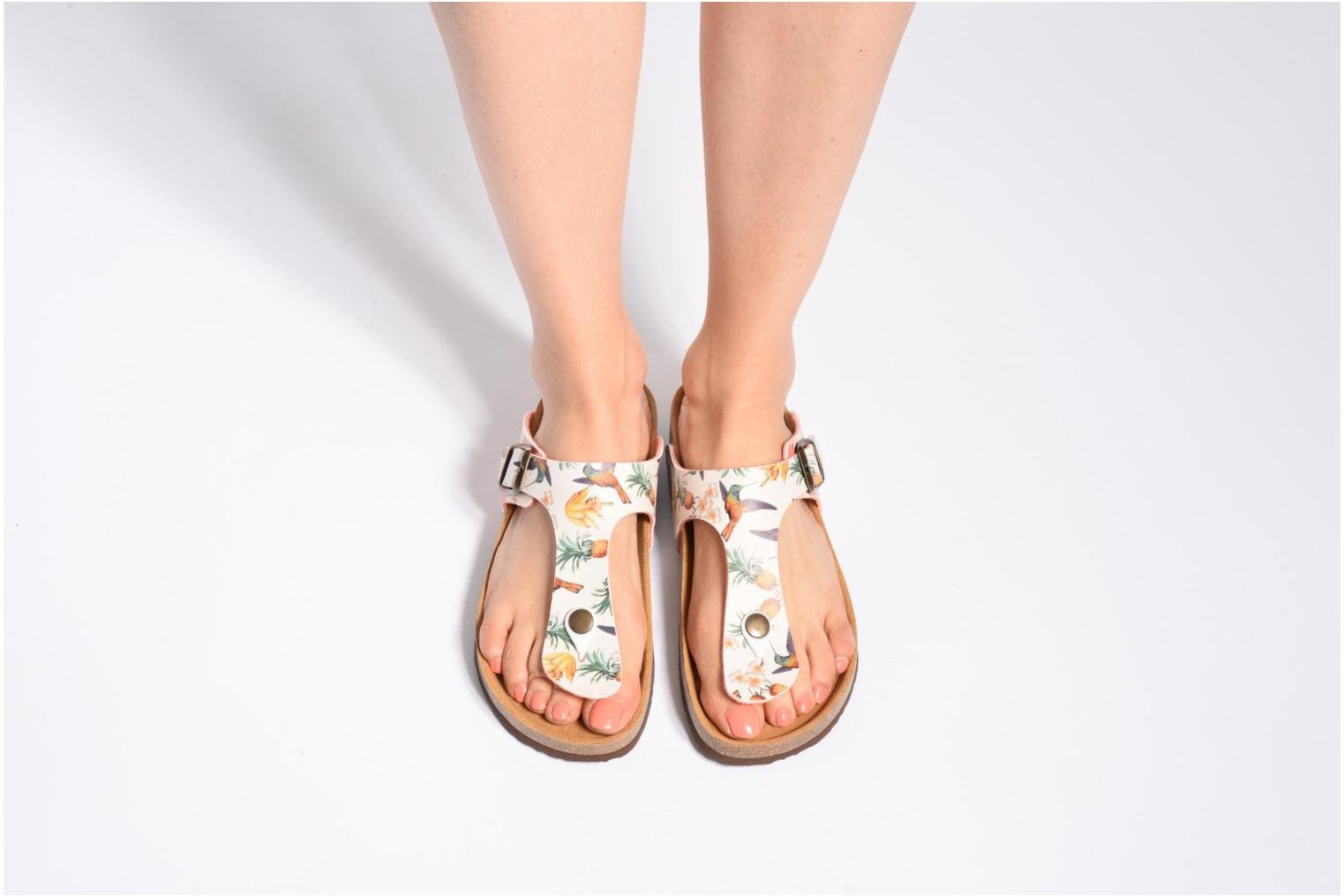 Sandals Desigual SHOES_BIO 3 Multicolor view from underneath / model view