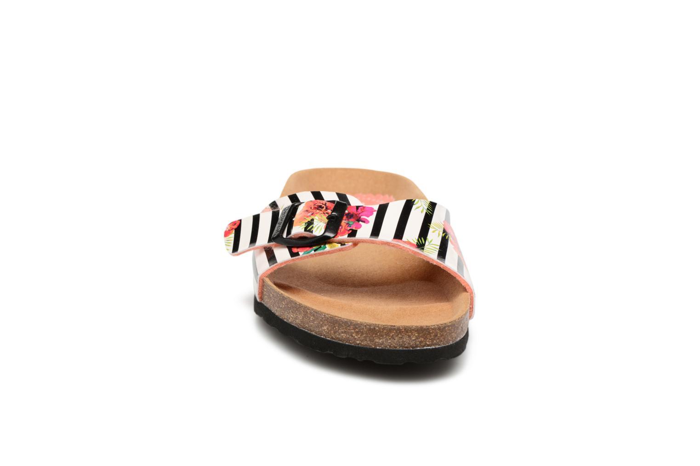 Clogs & Pantoletten Desigual SHOES_BIO 1 mehrfarbig schuhe getragen