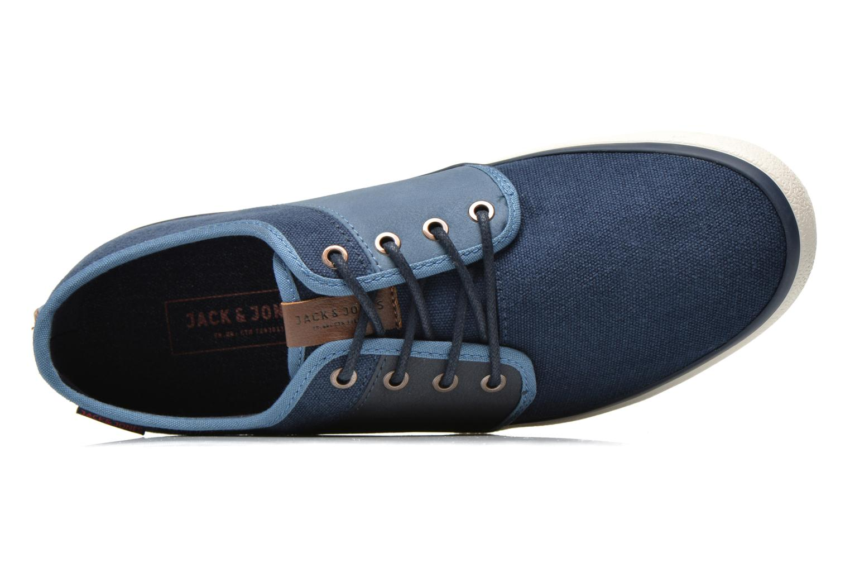 Sneaker Jack & Jones JJ Turbo blau ansicht von links