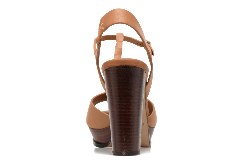 Sandales et nu-pieds See by Chloé Bury Marron vue droite