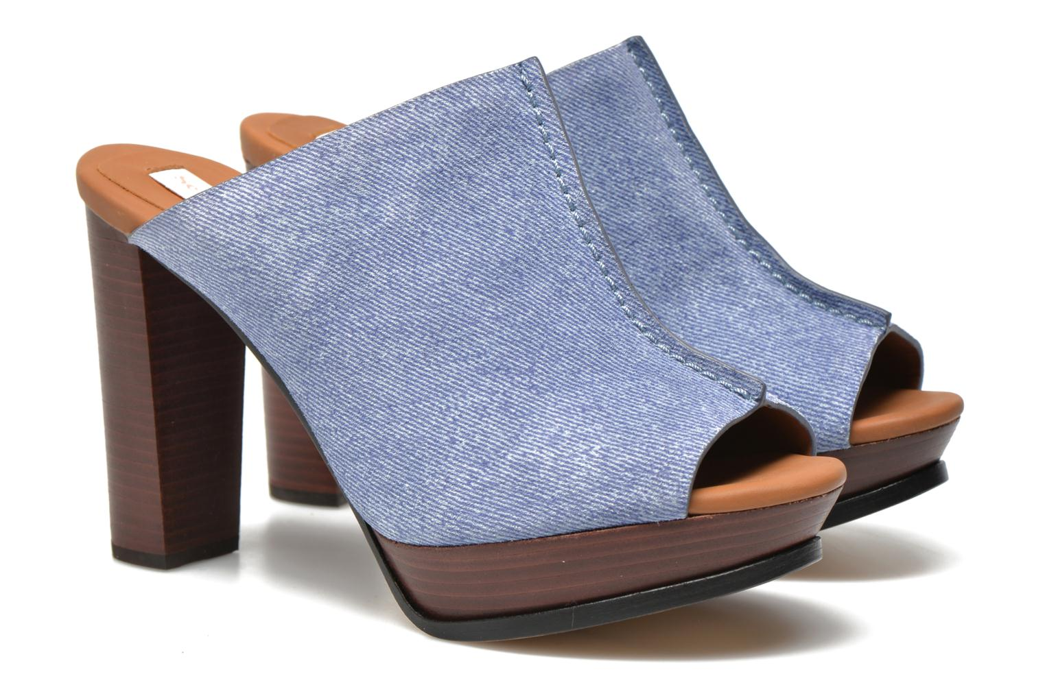Mules & clogs See by Chloé Till Blue 3/4 view