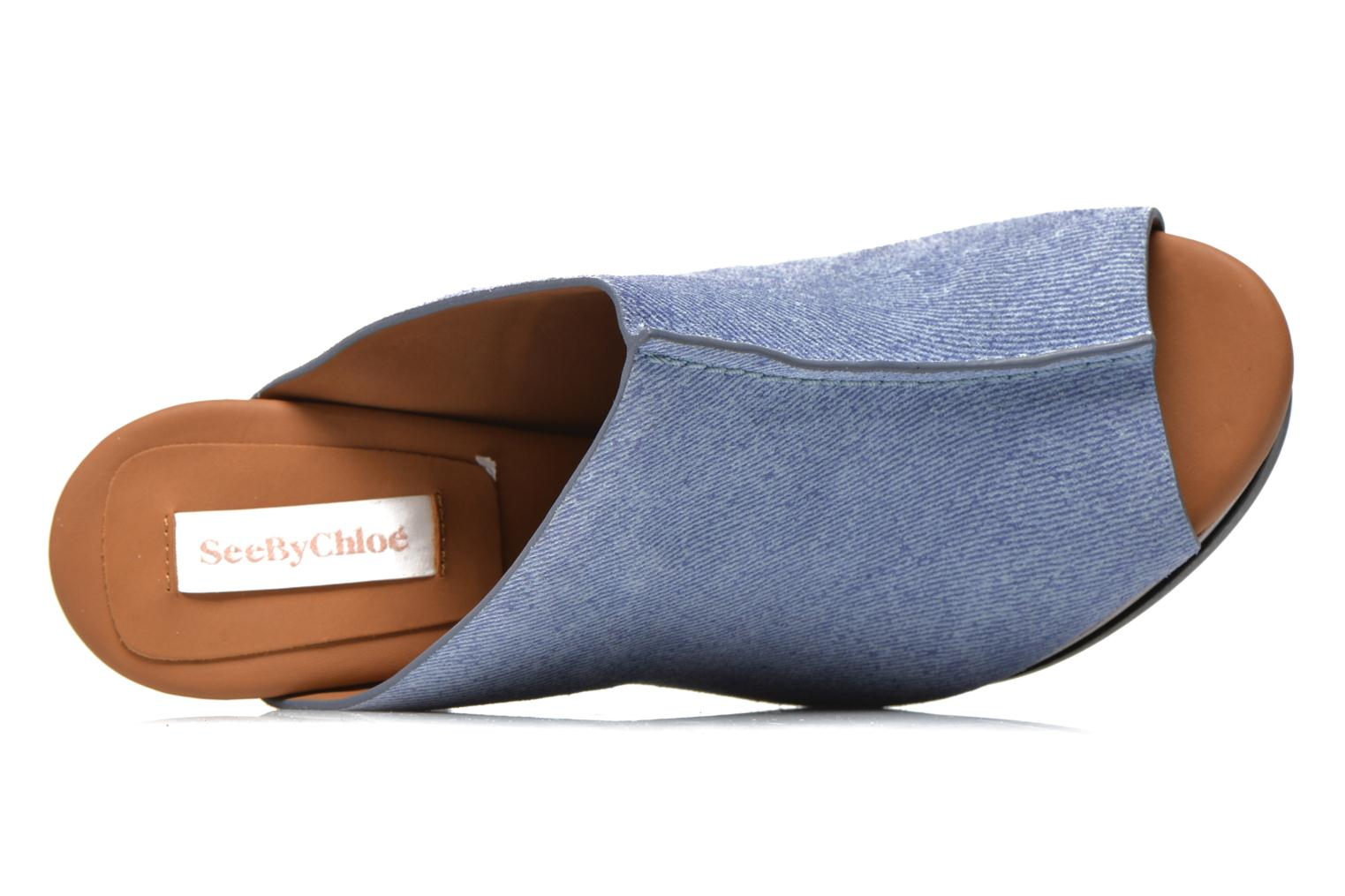 Mules & clogs See by Chloé Till Blue view from the left