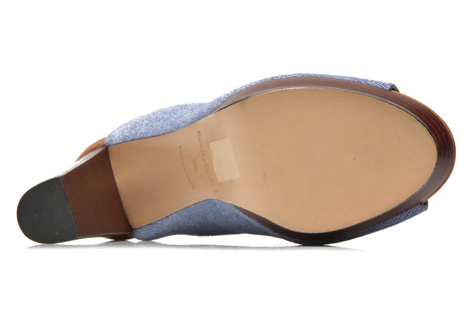 Wedges See by Chloé Till Blauw boven