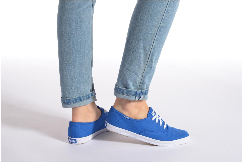 Sneakers Keds Champion CVO W Azzurro immagine dal basso