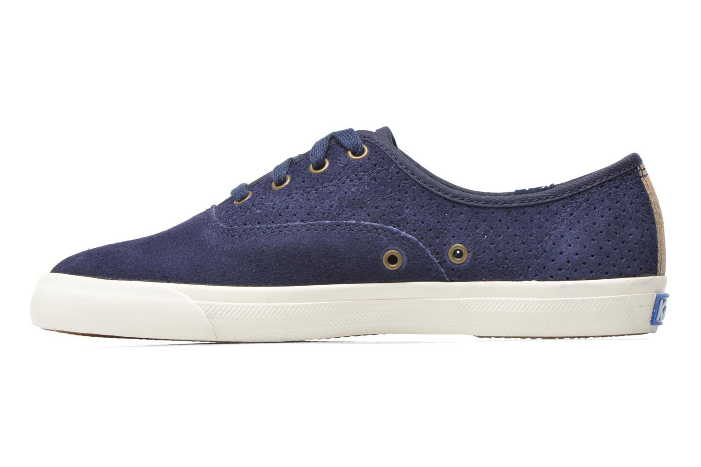Sneakers Keds Triumph 28 retro sport Blauw voorkant