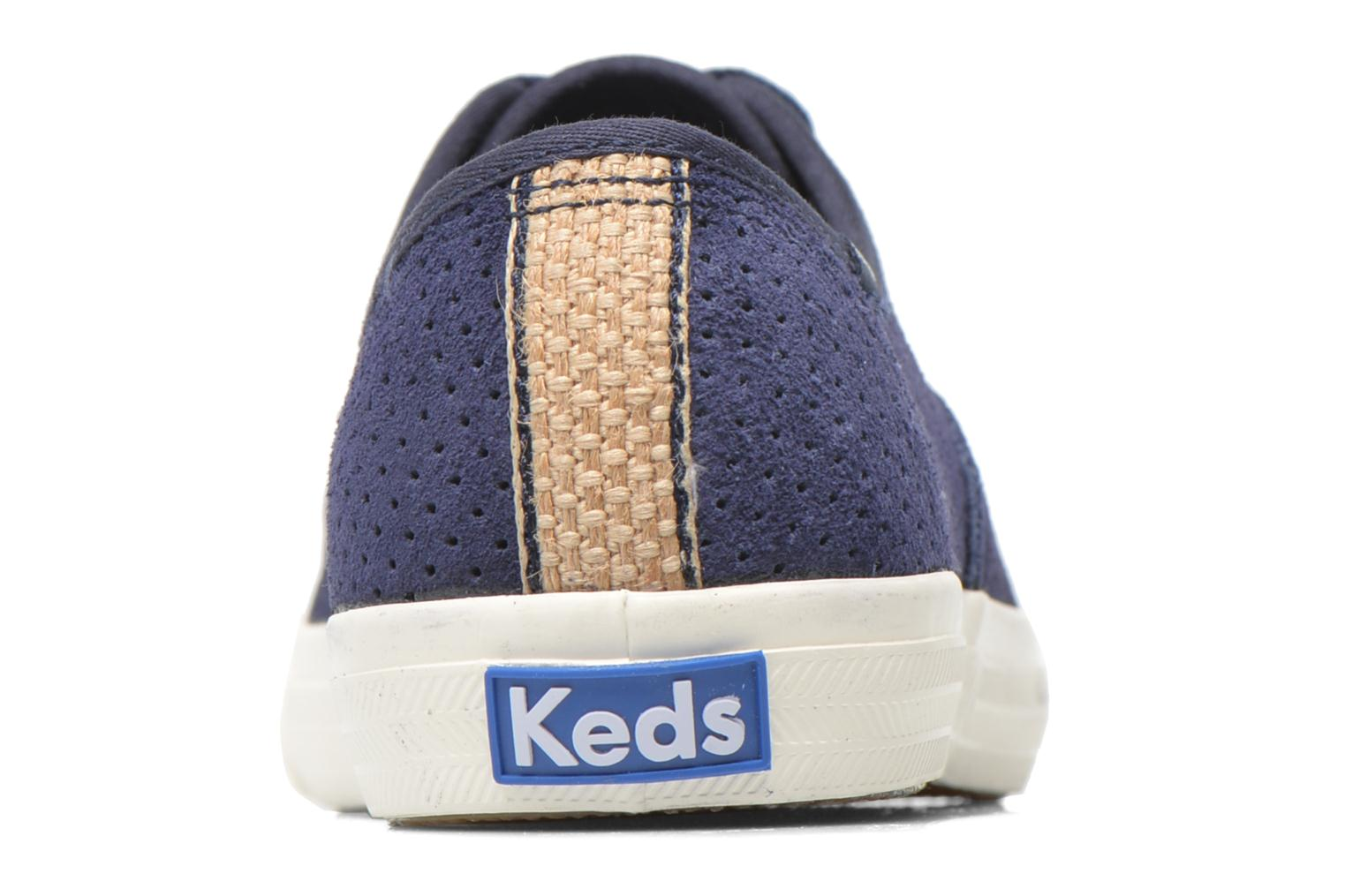 Trainers Keds Triumph 28 retro sport Blue view from the right