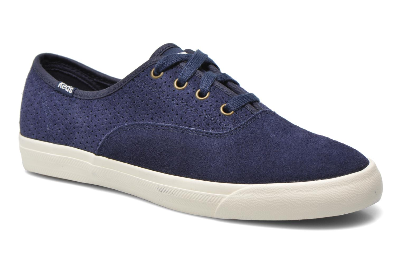 Trainers Keds Triumph 28 retro sport Blue detailed view/ Pair view