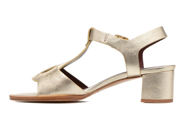 Sandales et nu-pieds Avril Gau Paty Or et bronze vue face