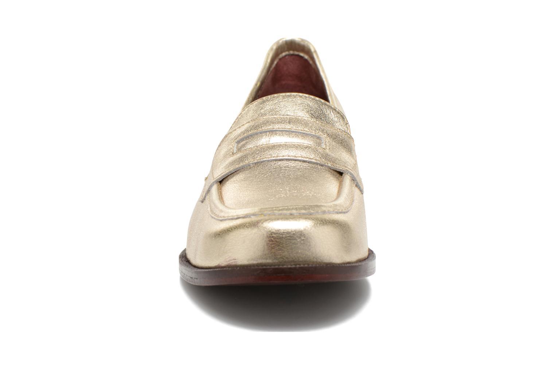 Mocassins Avril Gau Farc Or et bronze vue portées chaussures