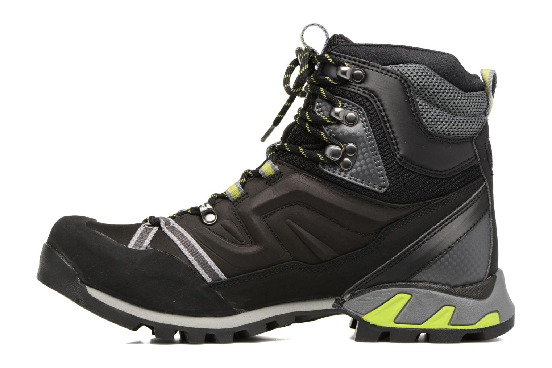 Sport shoes Millet High Route GTX Black front view