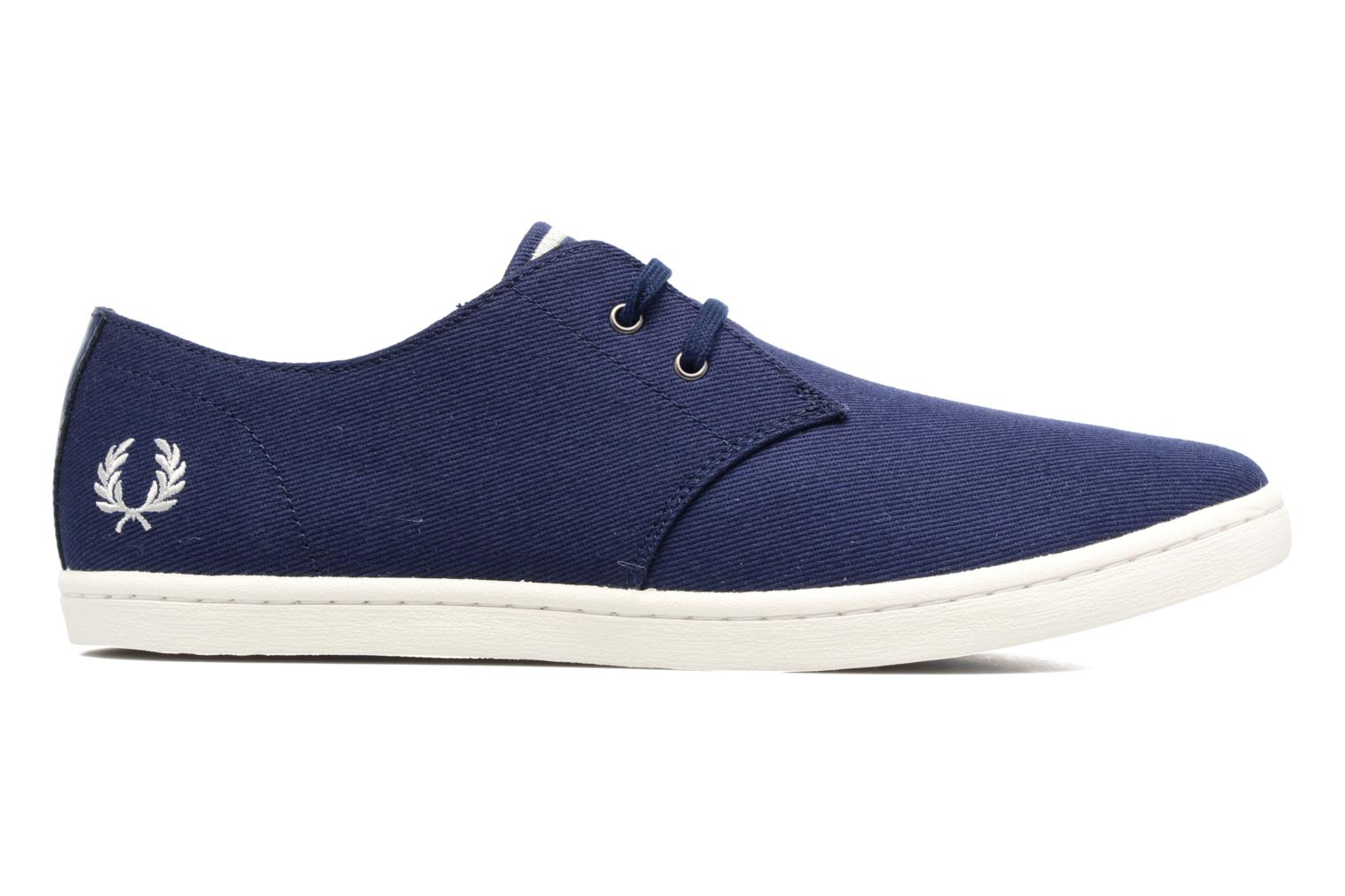 Baskets Fred Perry Byron Low Twill Bleu vue derrière