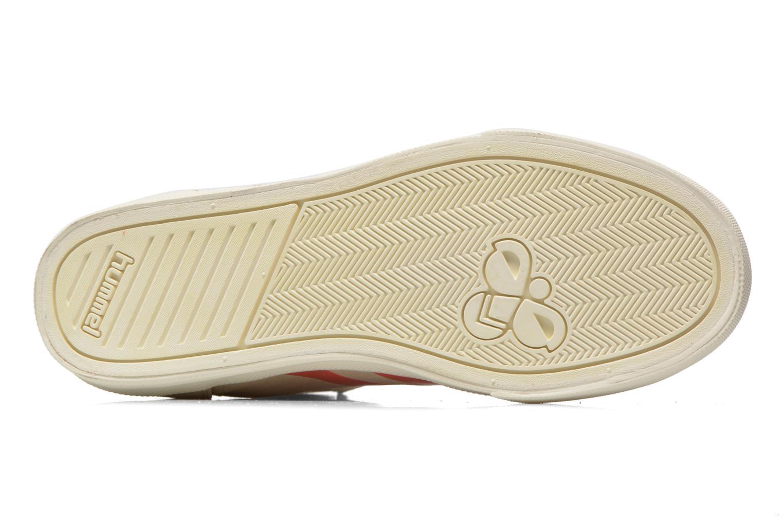 Sneakers Hummel Ten Star Smooth Hi Beige boven