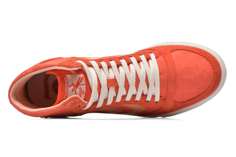 Sneakers Hummel Ten Star Smooth Hi Röd bild från vänster sidan
