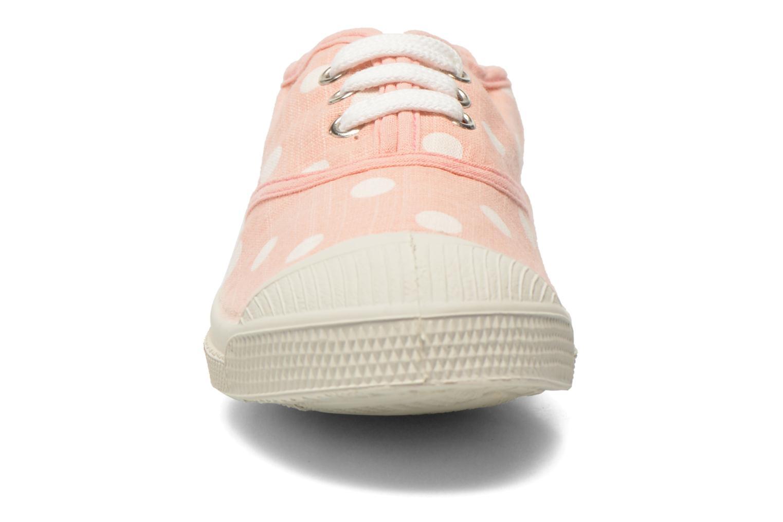 Deportivas Bensimon Tennis Lacets Pastel Pastilles E Rosa vista del modelo