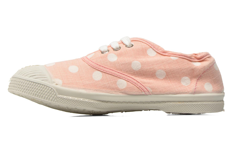 Sneakers Bensimon Tennis Lacets Pastel Pastilles E Roze voorkant