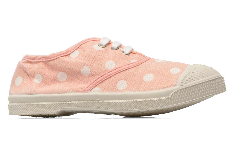 Sneakers Bensimon Tennis Lacets Pastel Pastilles E Rosa bild från baksidan
