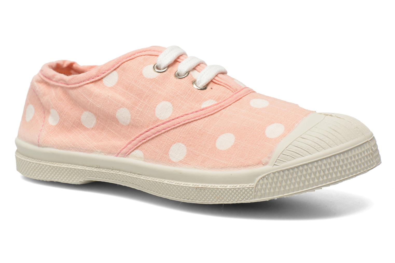 Sneakers Bensimon Tennis Lacets Pastel Pastilles E Roze detail