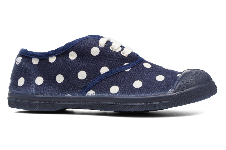 Sneakers Bensimon Tennis Lacets Pastel Pastilles E Blauw achterkant