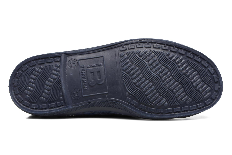 Sneakers Bensimon Tennis Lacets Pastel Pastilles E Blå se foroven