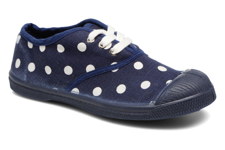 Sneakers Bensimon Tennis Lacets Pastel Pastilles E Blauw detail