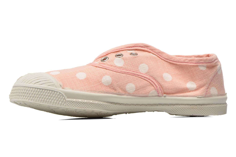 Sneaker Bensimon Tennis Elly Pastel Pastilles E rosa ansicht von vorne