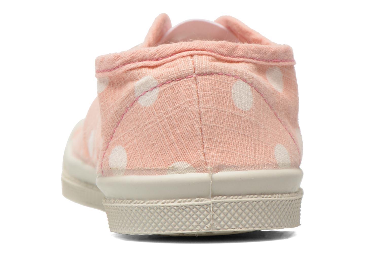 Sneaker Bensimon Tennis Elly Pastel Pastilles E rosa ansicht von rechts