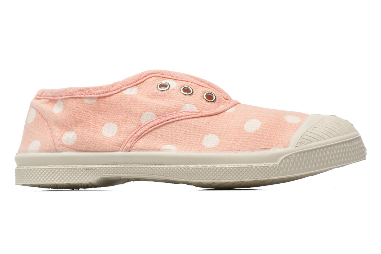 Sneaker Bensimon Tennis Elly Pastel Pastilles E rosa ansicht von hinten