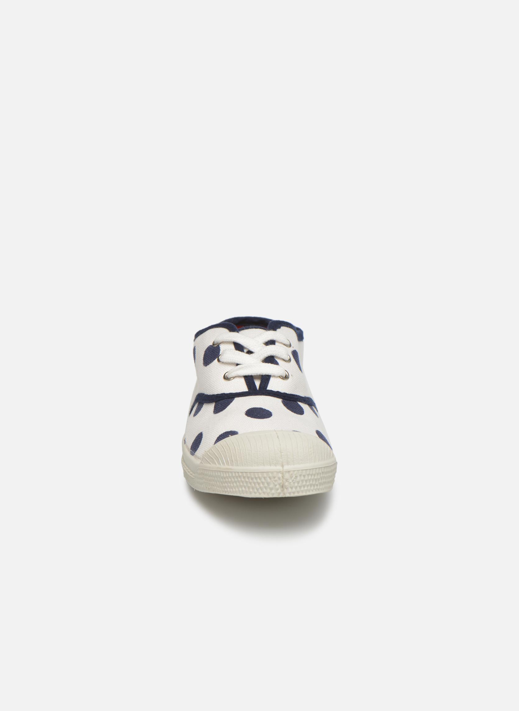 Baskets Bensimon Tennis Pois E Blanc vue portées chaussures