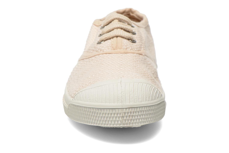 Baskets Bensimon Tennis Lin E Beige vue portées chaussures