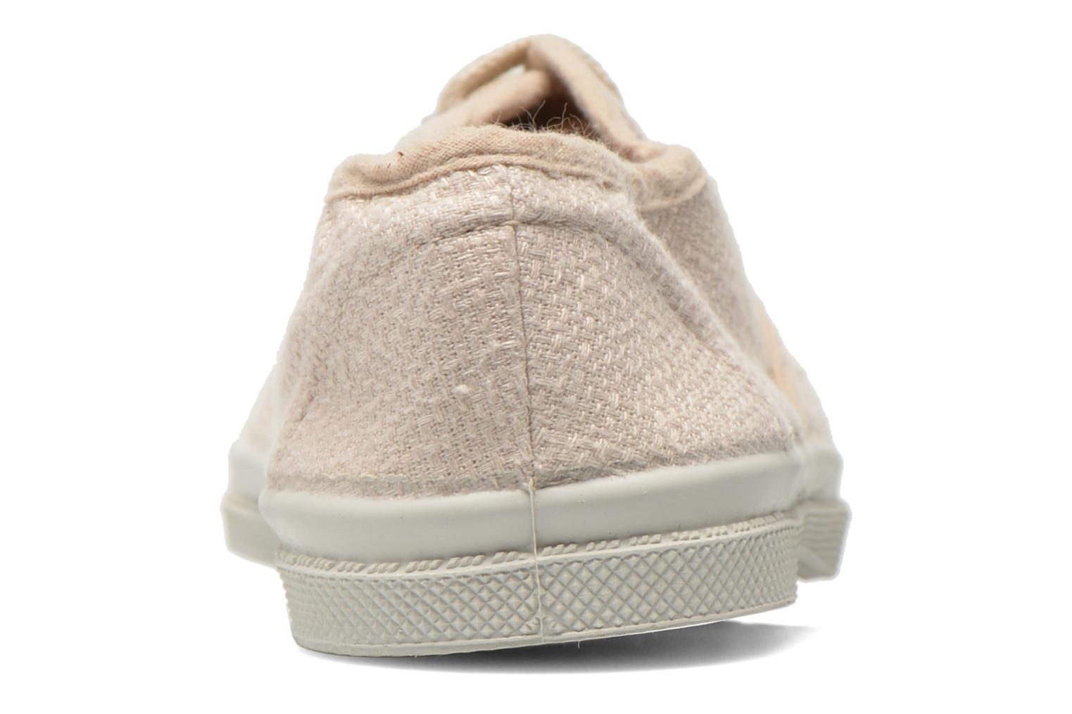 Trainers Bensimon Tennis Lin E Beige view from the right
