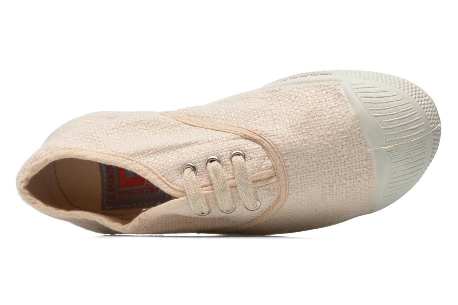 Trainers Bensimon Tennis Lin E Beige view from the left