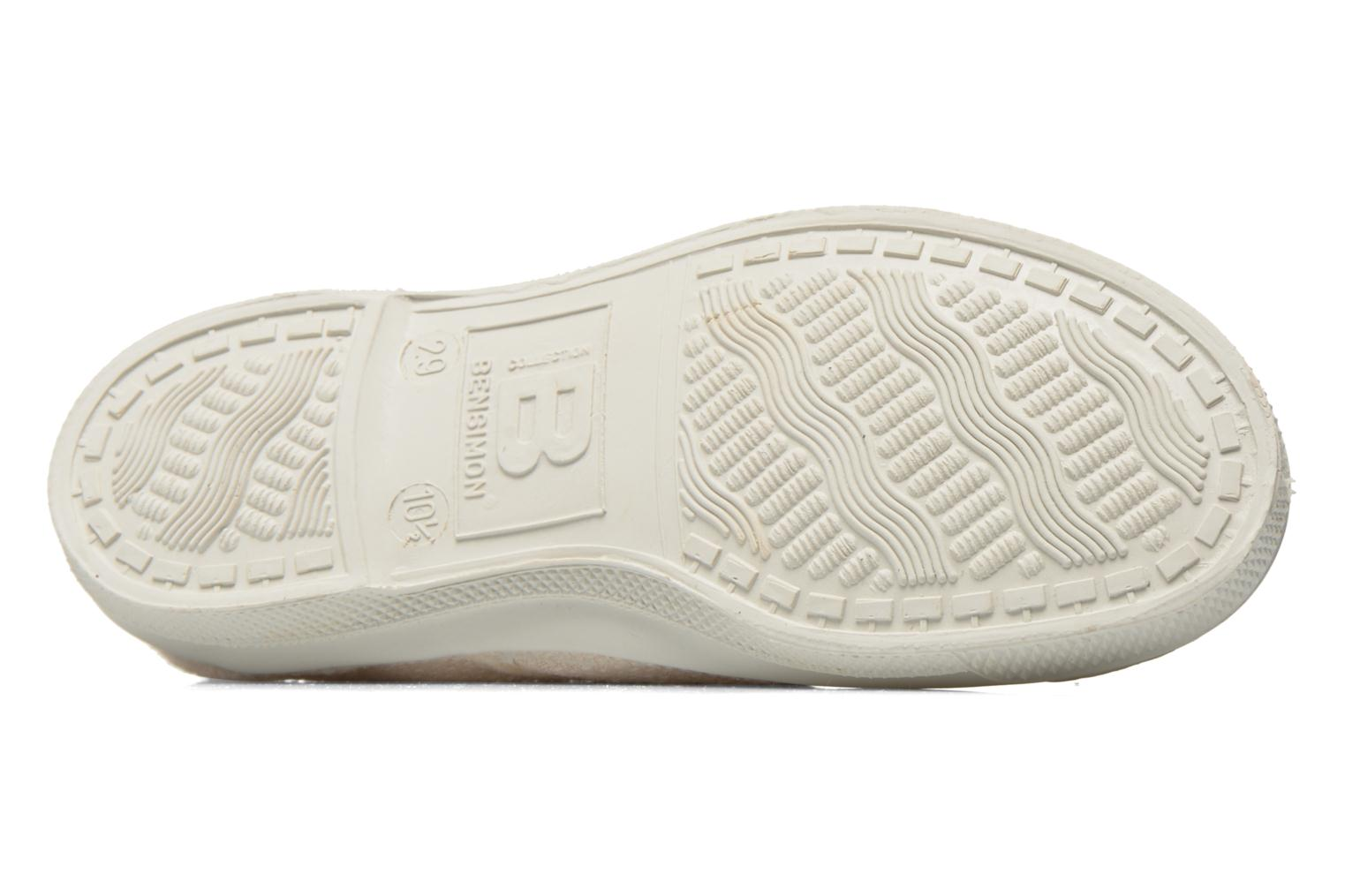 Trainers Bensimon Tennis Lin E Beige view from above
