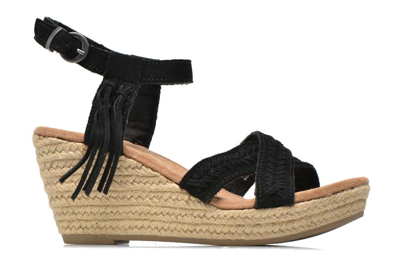 Sandales et nu-pieds Minnetonka Naomi Noir vue derrière